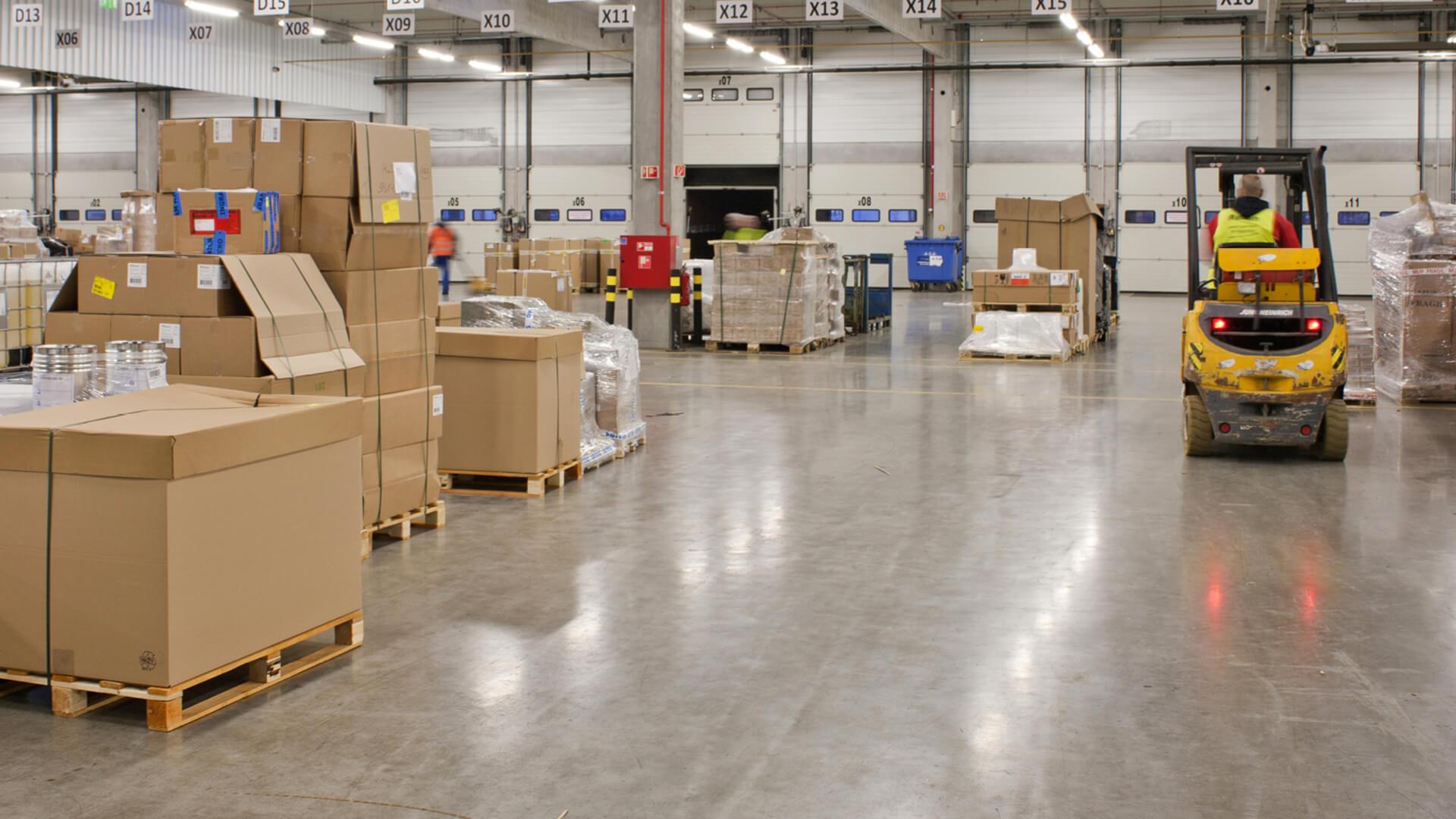 Enerqos settore logistico