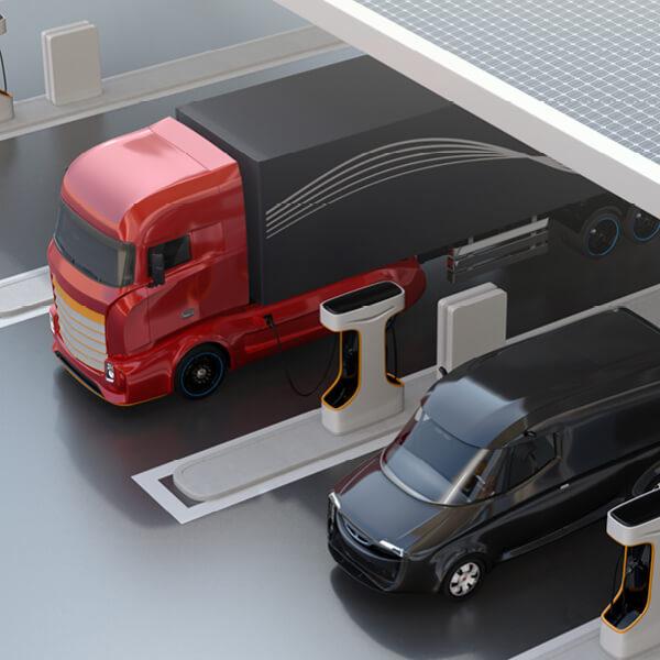 la logistica diventa sostenibile con le soluzioni per il fotovoltaico proposte da Enerqos